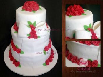 casamento-rosas vermelhas