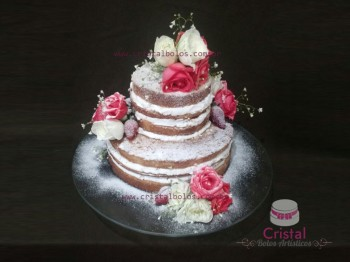 naked cake 2 andares