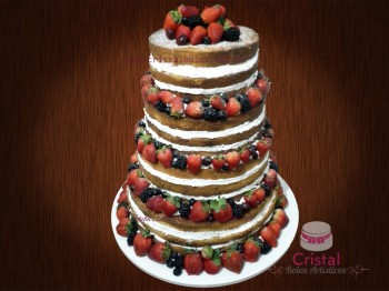 naked cake 4 andares